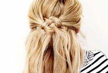 Hair & Hair Accessories / A collection of hair styles and hair accessories I love.  / by Tesa Nicolanti