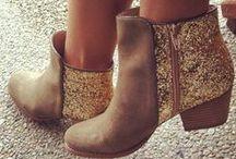 Happy Feet - Boots, Shoes, Sandals, & Heels / A collection of boots, shoes, sandals, and heels all on my wish list. / by Tesa Nicolanti