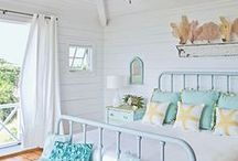 Gorgeous Bedrooms / Beautiful bedrooms. Love all these ideas! / by Tesa Nicolanti