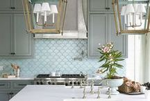 kitchens + dining. / by anne scott shelley