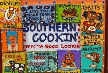 FOOD: CAJUN & SOUTHERN COOKING / by Terri Strong Dufrene