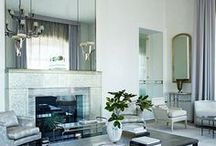 "Lavish Living Rooms / These living rooms really do pull out all the stops to claim the prize of a ""Lavish Living Room."" / by Bellacor.com"