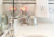 Bath Delight / Everything about these bathrooms Delight us. / by Bellacor.com