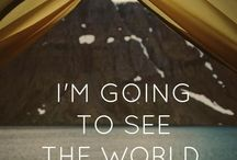Oh the Places I'll Go✈ / Travel the WORLD and see beyond the true meaning of beauty / by justine rea