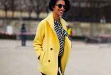 Yellow Outfits / women's fashion, outfits in yellow / by Justyna Baraniecki