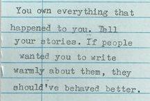 Words / by Deidra Drees