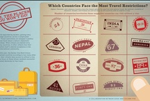 Infographics - Tourism & Travel / by ┌─Step Input─┘ ☼Brilliant☼ Digital Agency