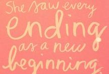 Words I Love / by Angelica Suarez // AngSuarez Creative