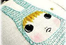 [handmade] embroidery / by Carmen @ SillyLab