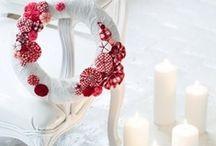 [handmade] wreaths / by Carmen @ SillyLab