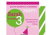 Kid's Invitation Station / Kids' party invitations / by The Paper Cottage