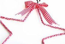 [handmade] holiday - christmas ornaments / by Carmen @ SillyLab