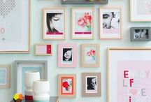 The Wall / Ideas for showing off your beautiful photos to the world / by Jackie Rueda