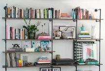 Bookshelves & Styling / by Kayla DuBois // Juneberry Events