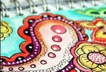 doodles#zentangle / by Leen Bokken