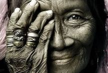 Old is Beautiful  / Every wrinkle tells a story. Every story is a legend. Every smile is full of depth. The eyes are filled with emotion. We have so much to learn from our elders. / by Baal Teshuva Journey