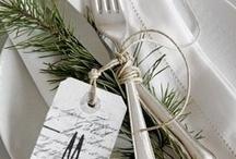 Table Settings /   / by Lynn Cranmer Mihok