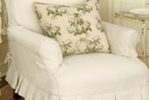Slip Covers & Upholstery / by Lynn Cranmer Mihok