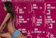 Fitness & Motivation / by Kendall Burkhead