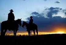 Western, Cowboys, Cowgirls / by Nina Holdman Rader