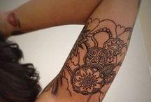 tattoos / by Brita Christine Van Guilder