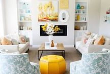 For the Home {Living Rooms} / by Camille Cook