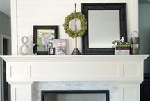 For the Home {Mantels, Shelves, & Walls} / by Camille Cook