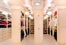 DRESSING Room / Closet, vanity, boudoir = my place to get myself all dolled up. / by Diane Blair
