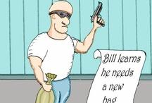 Bill the Burglar / by John Contois