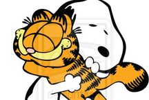 Peanuts & Garfield / Dedicated to Charlie Brown, his dog Snoopy, the rest of the Peanuts Gang, and that lovable cat Garfield. :)   / by Randee Carreno