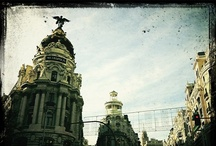 Madrid / Calles, fachadas y luces de #Madrid / by Alberto D. Prieto