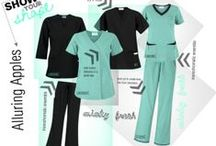 Scrubs for Apple Shapes! / Narrow hips, most of your weight accumulates above the hips, your back/ribs/shoulders are broad. Show off your Apple shape with scrubs just for you! No need to stress and feel uncomfortable. Shop at UniformAdvantage.com for all your medical uniform needs! #scrubs #medicaluniforms #uniforms #fashion  / by Scrubs By Uniform Advantage