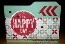 Stampin Up! - Inspiration / stamping projects featuring Stampin' Up! produtcs / by INKin' All Night! with Rhonda
