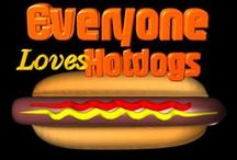 Everyone loves Hot Dogs  / Everyone loves Hot Dogs  / by Valx Art