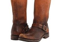 flat brown riding boots roundup / it's hard to find the perfect boot and I've been looking for some this fall. I'd be happy to wear these, except the price on MOST of them. a few important details: NO pointy toes, flat or short heel, goes with black or brown (not all of these meet the color criteria, but I couldn't resist) / by tico♥tina