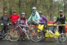 Bike Overnights / Bike overnights can be camping trips, or they can be getaways to a local inn, hostel, or B&B. For those of us who love to bike tour, but don't always have the time or money, bike overnights are a great option. For riders interested in touring but inexperienced or concerned about what touring requires, bike overnights provide an easy way to test the waters before heading out on an extended adventure. / by Adventure Cycling Association