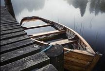 CABIN BY THE LAKE / by Josephine Falletta Buono