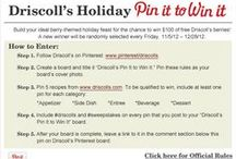 Driscoll's Pin It to Win It / Driscoll's Berries are my favorite! / by Heather Hn