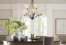 Finishes: Antique Bronze / Lighting with Bronze fixtures finishes for the home by Progress Lighting. / by Progress Lighting