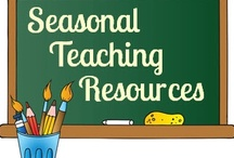 Holiday & Seasonal Math Activities / Students enjoy activities and lessons that are integrated with a season or holiday. / by Carol Camp