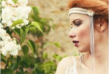 Bridal Accessories / Vintage headbands, lace wedding cuffs and other bridal accessories / by French Wedding Style - Wedding Blog