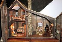 dollhouses / by Marie Lowe-Chaney