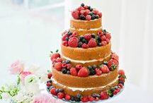 Naked Rustic wedding cakes /  selection of naked wedding cakes for your wedding day  / by French Wedding Style - Wedding Blog