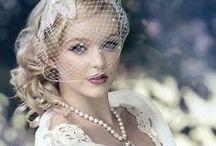 Bridal Style: Vintage / Vintage bridal looks, vintage wedding dresses / by French Wedding Style - Wedding Blog
