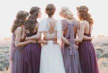 Radiant Orchid - wedding colour 2014 / Pantone's wedding colour of the year for 2014 is Radiant Orchid, get ready for purples all over wedding land / by French Wedding Style - Wedding Blog