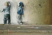 Graphics and Digital Art / Street Art, Chalk Art and Digital Art and Graphics / by Liz Schroeder