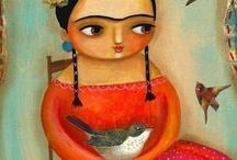 Frida Kahlo / by Ana Scalcon