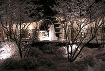 Watermill Gardens in Winter / Winter on Long Island brings snow and cold temperatures yet the gardens at the Watermill still lend an ideal backdrop for wedding photos! / by Watermill Caterers