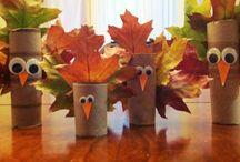 Preschool November - Our Community / Preschool November Curriculum, Themes: Our Community, Thanksgiving, Leaves, Da Vinci, Kevin Henkes / by Rebecca Rak