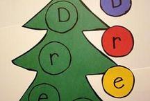 Preschool December - Holiday Tradtions / Preschool December Curriculum, Themes: Holiday Traditions, Christmas, Kwanzaa, Hanukkah, Room Decor, Michelangelo, Jan Brett  / by Rebecca Rak